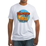 Garfield Show Logo Fitted T-Shirt
