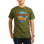 Garfield Show Logo Organic Men's T-Shirt (dark)