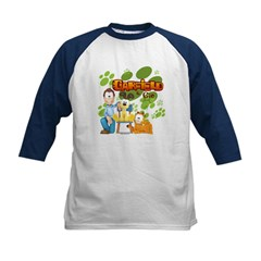 Garfield & Cie Logo Kids Baseball Jersey