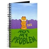 "Garfield ""Not My Problem"" Journal"