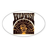 The Real Wild West Decal