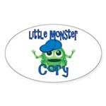 Little Monster Cory Sticker (Oval)