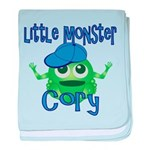 Little Monster Cory baby blanket