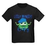 Little Monster Cory Kids Dark T-Shirt