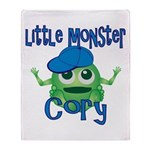 Little Monster Cory Throw Blanket
