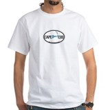 Cape Cod MA - Oval Design Shirt