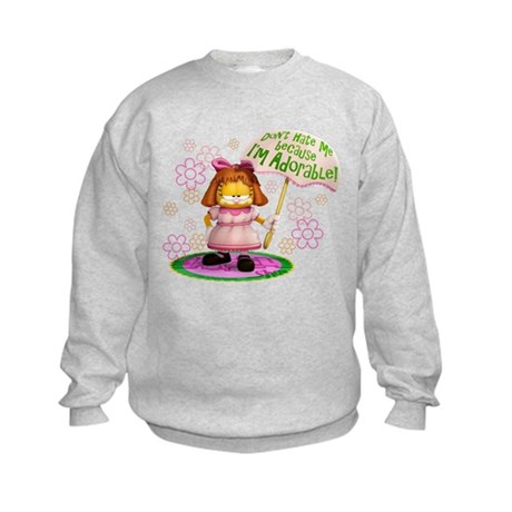 I'm Adorable Kids Sweatshirt