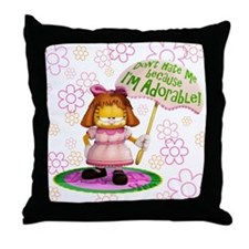 "Garfield ""I'm Adorable"" Throw Pillow"