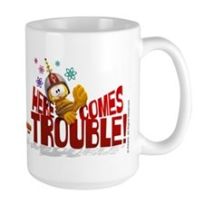 "Garfield ""Here Comes Trouble"" Coffee Mug"