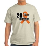 20 Year Leukemia Survivor T-Shirt