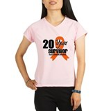20 Year Leukemia Survivor Performance Dry T-Shirt