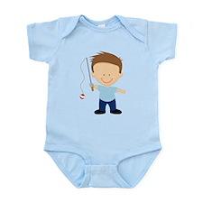 Daddy Fisherman Infant Bodysuit
