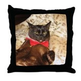 FPG Xmas Cat V Throw Pillow