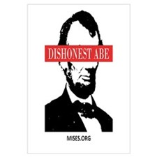 Cute Honest abe Wall Art