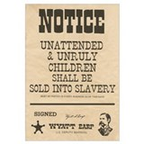 Unattended & Unrully Children Print