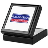 Bachmann for President 2012 Keepsake Box