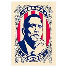 "Barack OBAMA 2008 - 16x20"""