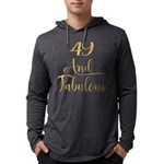 F-35 Lightning II Long Sleeve Dark T-Shirt