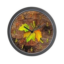 """Maple Leaf"" Custom Wall Clock"
