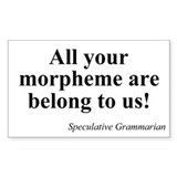 SpecGram Morpheme Rectangle Decal