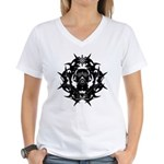 Gasmask Women's V-Neck T-Shirt