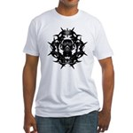 Gasmask Fitted T-Shirt