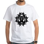 Gasmask White T-Shirt