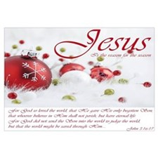 Jesus Is The Reason For The Season Wall Art