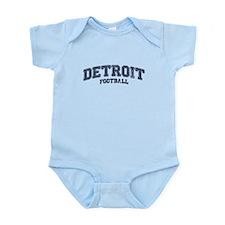 Detroit Football Infant Bodysuit