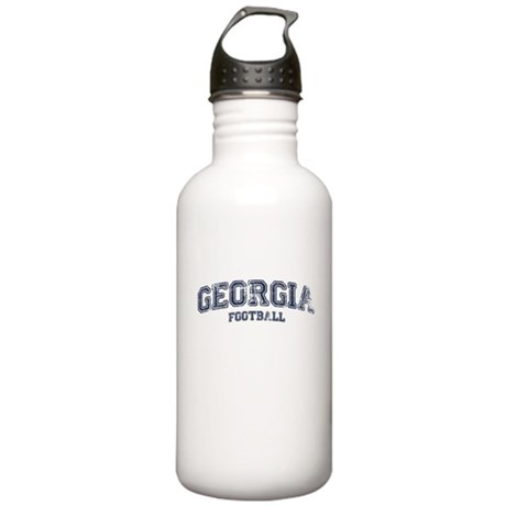 Georgia Football Stainless Water Bottle 1.0L