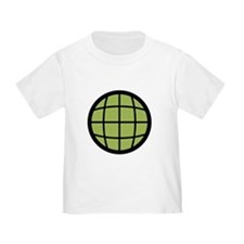 Captain Planet Globe Logo T