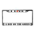Funny Golfing Gift License Plate Frame