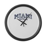 Miami Large Wall Clock