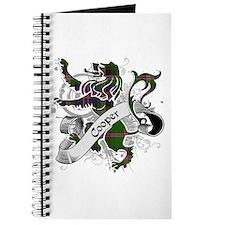 Cooper Tartan Lion Journal
