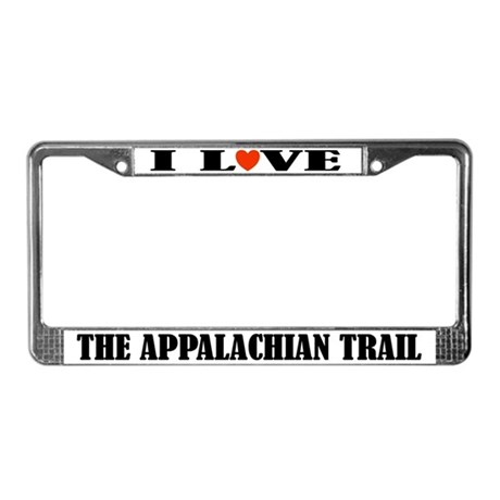 Appalachian Trail Hiking License Frame