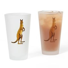 Kangaroo Drinking Glass