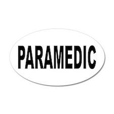 Paramedic 38.5 x 24.5 Oval Wall Peel