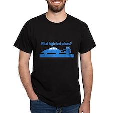 mobile fuel Black T-Shirt