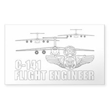 C-141 Flight Engineer Decal