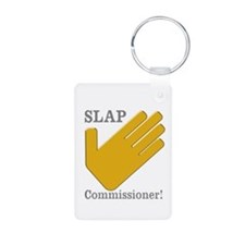 Slap Commissioner Keychains