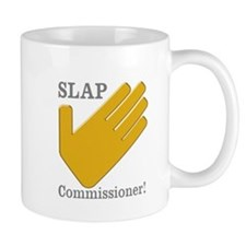 Slap Commissioner Mug