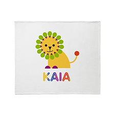 Kaia the Lion Throw Blanket