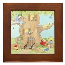 Story Time - Frog Framed Tile