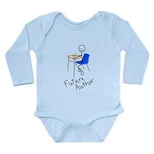 Future Author Long Sleeve Infant Bodysuit