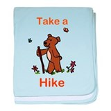 Take a Hike baby blanket