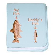 My Fish baby blanket