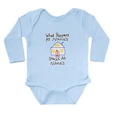 Nana's House Long Sleeve Infant Bodysuit