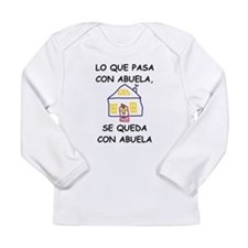 Con Abuela Long Sleeve Infant T-Shirt