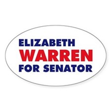 Warren for Senator Decal