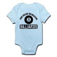 Got the balls for Billiards Infant Bodysuit
